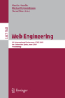 Cover of ICWE2009 Proceedings