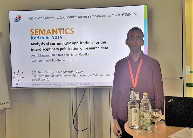 VSR at semantics 2019 in Karlsruhe