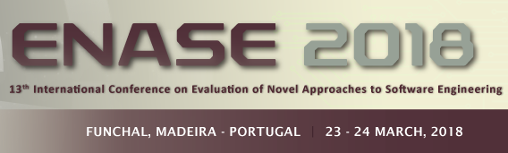 VSR members at ENASE 2018 in Portugal