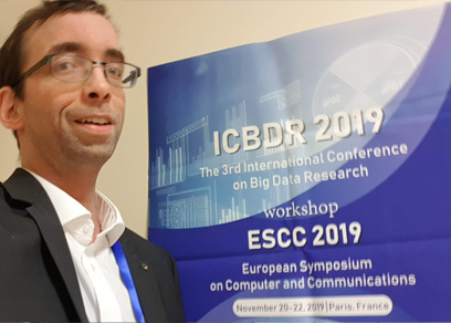 VSR at ICBDR 2019 in Paris
